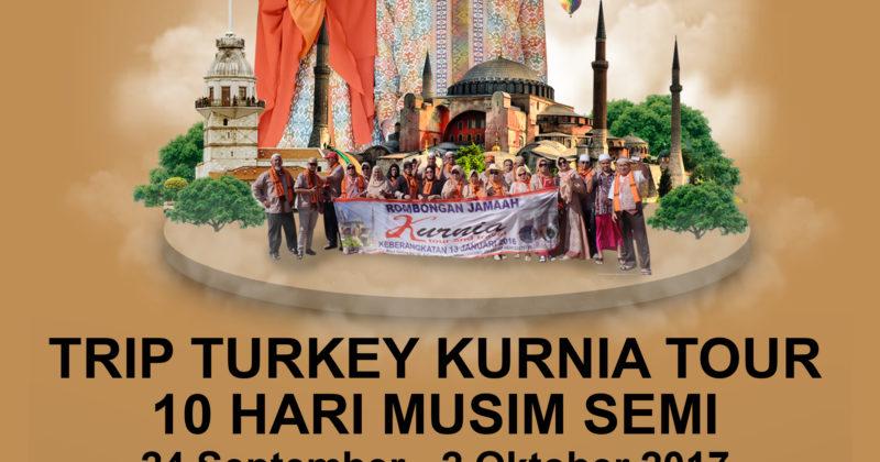 ITINERARY TRIP TURKEY KURNIA TOUR & TRAVEL